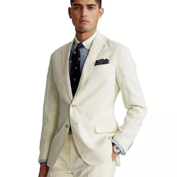 Lauren Ralph Lauren Linen Suit Jacket